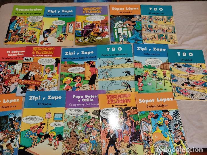 LOTE DE 16 TEBEOS, EDICIONES B, 2003. ZIPI ZAPE, SUPER LOPEZ, TBO, Y SIMILARES. VER FOTOS (Tebeos y Comics - Ediciones B - Clásicos Españoles)