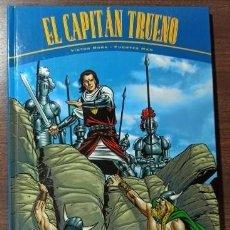 Cómics: EL CAPITÁN TRUENO - VÍCTOR MORA Y FUENTES MAN - LA HORDA DE AKBAR Y RUINAS DE TINTAGEL - DE KIOSKO.. Lote 266040513