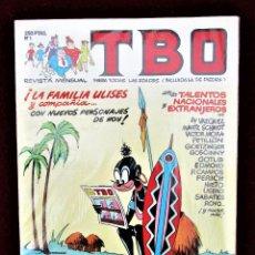 Cómics: TBO Nº 1 EDICIONES B ¡LA FAMILIA ULISES Y COMPAÑÍA... MUY BUEN ESTADO. Lote 266442823