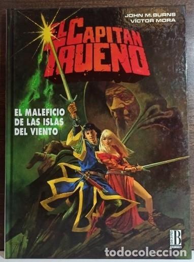 EL CAPITÁN TRUENO Nº 2 - EL MALEFICIO DE LAS ISLAS DEL VIENTO - EDICIONES B - DE KIOSKO (Tebeos y Comics - Ediciones B - Clásicos Españoles)