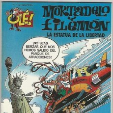 Comics : EDICIONES B. OLÉ MORTADELO. 015. SIN RELIEVE.. Lote 266696533