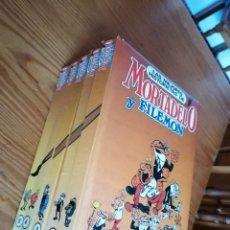 Comics : LAS MEJORES HISTORIETAS DE MORTADELO Y FILEMÓN, 5 TOMOS, COMPLETA, EDICIONES NAUTA.. Lote 267096404