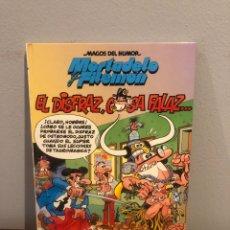Cómics: MAGOS DEL HUMOR Nº 64 -- MORTADELO Y FILEMON - EL DISFRAZ, COSA FALAZ -- EDICIONES B -- 1995. Lote 267163519