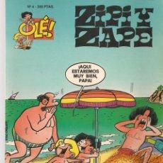 Cómics: OLÉ!. ZIPI Y ZAPE. Nº 4. PORTADA RELIEVE. EDICIONES B. 1ª EDC. 1993. (C/A39). Lote 287816073