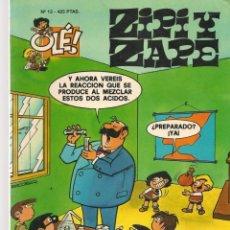 Cómics: OLÉ!. ZIPI Y ZAPE. Nº 13. PORTADA RELIEVE. EDICIONES B. 2ª EDC. 2000. (C/A39). Lote 287816098