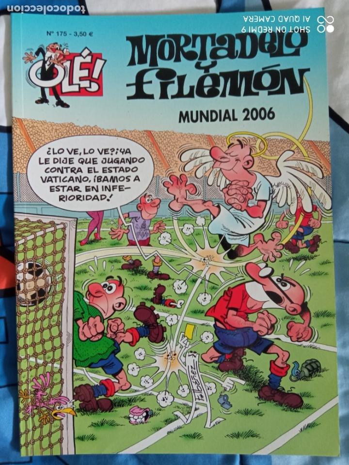 MORTADELO Y FILEMÓN. OLÉ! Nº 175. MUNDIAL 2006. 1ª EDICIÓN 2006 (Tebeos y Comics - Ediciones B - Humor)