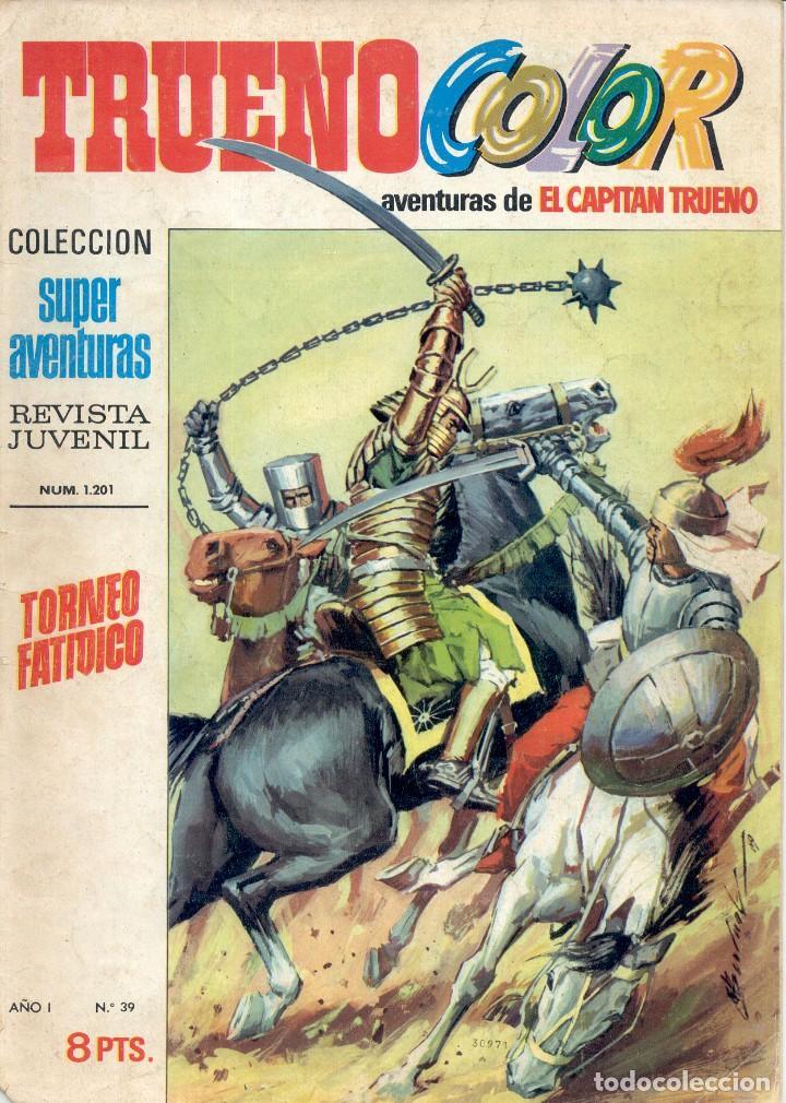 CAPITÁN TRUENO Nº 39 (1 EURO) + GASTOS DE ENVÍO (Tebeos y Comics - Ediciones B - Clásicos Españoles)