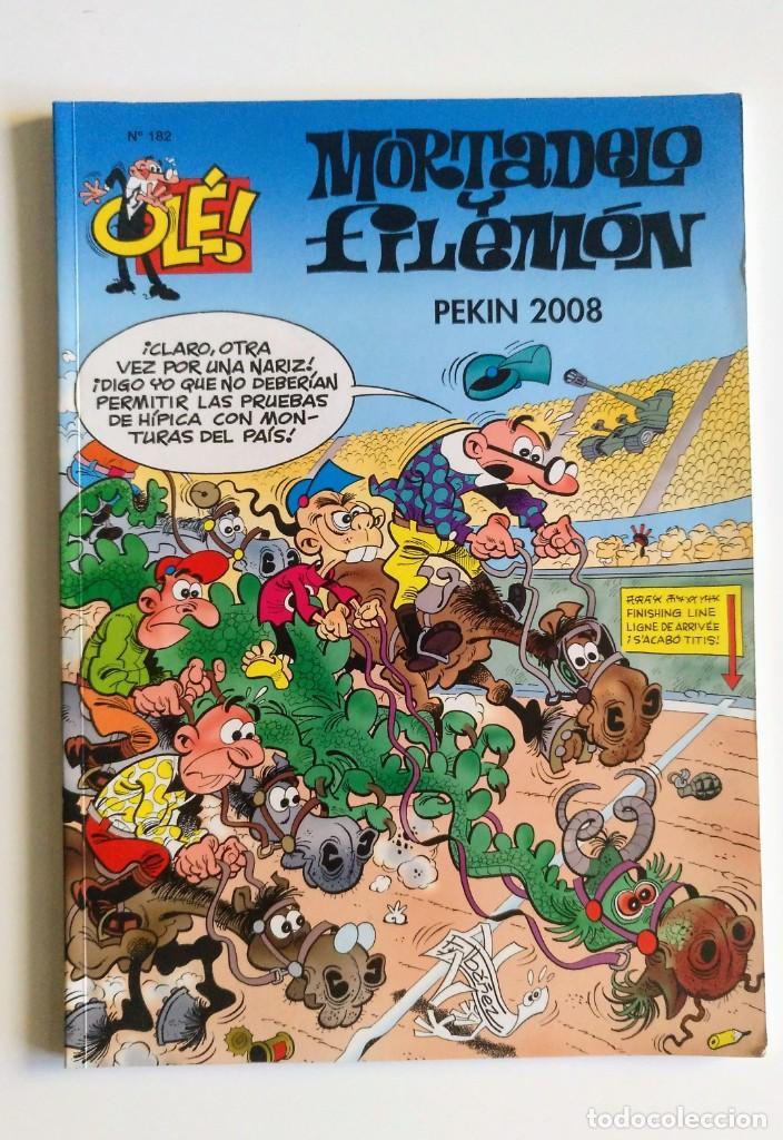 MORTADELO Y FILEMÓN - OLÉ 182 - PEKIN 2008 (Tebeos y Comics - Ediciones B - Humor)