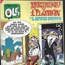 Cómics: MORTADELO Y FILEMON Y EL BOTONES SACARINO. 188. Lote 268821939