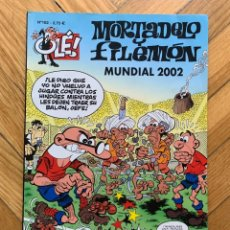 Cómics: MORTADELO Y FILEMÓN: MUNDIAL 2002 - OLÉ Nº 162 - 1ª EDICIÓN 2002. Lote 268855239