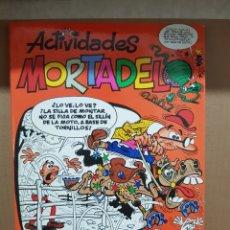 Cómics: ACTIVIDADES MORTADELO 2° EDICION 2007 ALGUNOS PASATIEMPOS ESTAN HECHOS. Lote 268921234