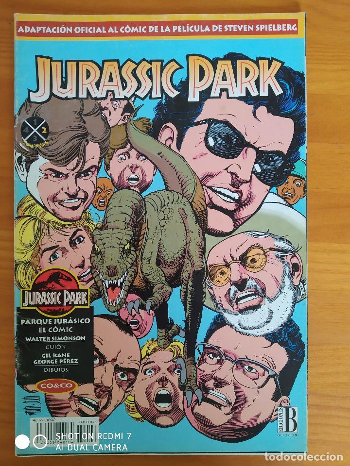 JURASSIC PARK Nº 2 - ADAPTACION OFICIAL AL COMIC DE LA PELICULA - EDICIONES B (8Y) (Tebeos y Comics - Ediciones B - Otros)