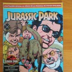 Cómics: JURASSIC PARK Nº 2 - ADAPTACION OFICIAL AL COMIC DE LA PELICULA - EDICIONES B (8Y). Lote 268933859
