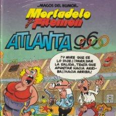 Cómics: MORTADELO Y FILEMON MAGOS DEL HUMOR ATLANTA 96.1998. FRANCISCO IBAÑEZ.TAPA DURA. Lote 268939874