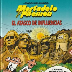 Cómics: MAGOS DEL HUMOR MORTADELO Y FILEMON EL ATASCO DE INFLUENCIAS.1998. FRANCISCO IBAÑEZ.TAPA DURA. Lote 268940139