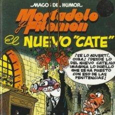 Cómics: MAGOS DEL HUMOR MORTADELO Y FILEMON EL NUEVO CATE.1998. FRANCISCO IBAÑEZ.TAPA DURA. Lote 268940744