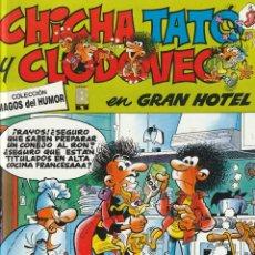 Cómics: MAGOS DEL HUMOR CHICHA TATO Y CLODOVEO EN GRAN HOTEL.1998. FRANCISCO IBAÑEZ.TAPA DURA. Lote 268941169