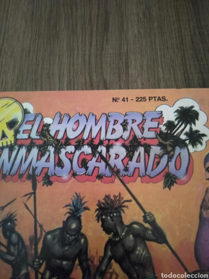 Cómics: Comic El Hombre Enmascarado N°41. Ediciones B. S.A. Año: 1988. Como Nuevo - Foto 2 - 268987084