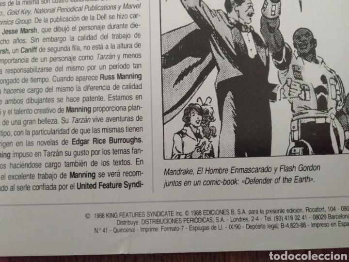 Cómics: Comic El Hombre Enmascarado N°41. Ediciones B. S.A. Año: 1988. Como Nuevo - Foto 3 - 268987084