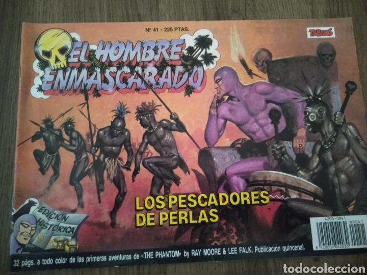 COMIC EL HOMBRE ENMASCARADO N°41. EDICIONES B. S.A. AÑO: 1988. COMO NUEVO (Tebeos y Comics - Ediciones B - Otros)