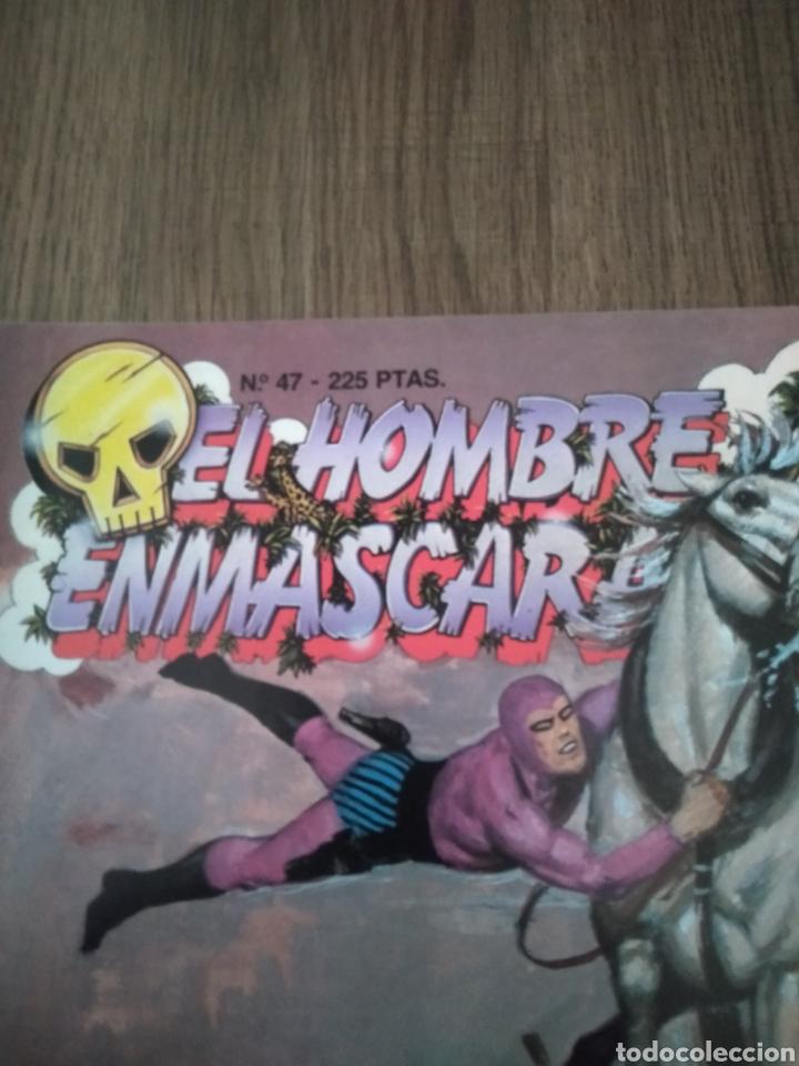 Cómics: Comic El Hombre Enmascarado N°47 Ediciones B. S.A. Año: 1988. Como Nuevo - Foto 2 - 268988019