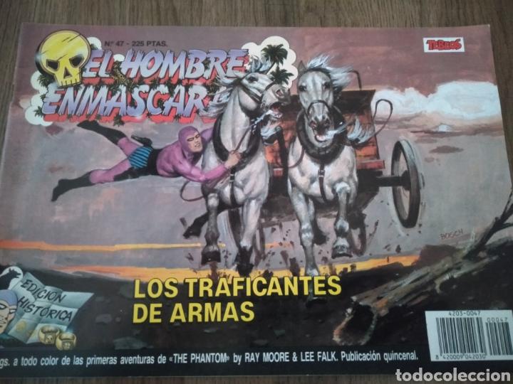 COMIC EL HOMBRE ENMASCARADO N°47 EDICIONES B. S.A. AÑO: 1988. COMO NUEVO (Tebeos y Comics - Ediciones B - Otros)
