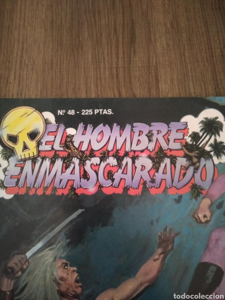 Cómics: Comic El Hombre Enmascarado N°48. Ediciones B S.A. año: 1988. Como Nuevo. - Foto 2 - 268988914