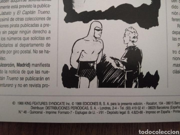 Cómics: Comic El Hombre Enmascarado N°48. Ediciones B S.A. año: 1988. Como Nuevo. - Foto 3 - 268988914