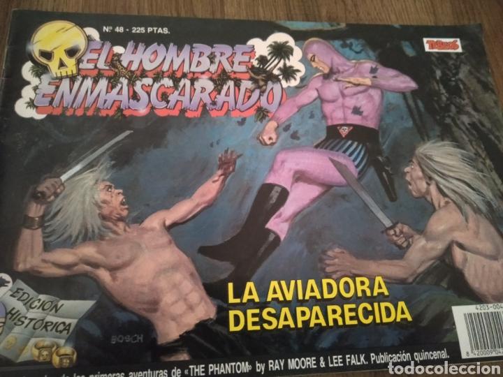COMIC EL HOMBRE ENMASCARADO N°48. EDICIONES B S.A. AÑO: 1988. COMO NUEVO. (Tebeos y Comics - Ediciones B - Otros)