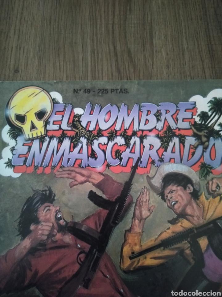 Cómics: Comic El Hombre Enmascarado N°49. Ediciones B S.A. Año: 1988. Como Nuevo. - Foto 4 - 268989779