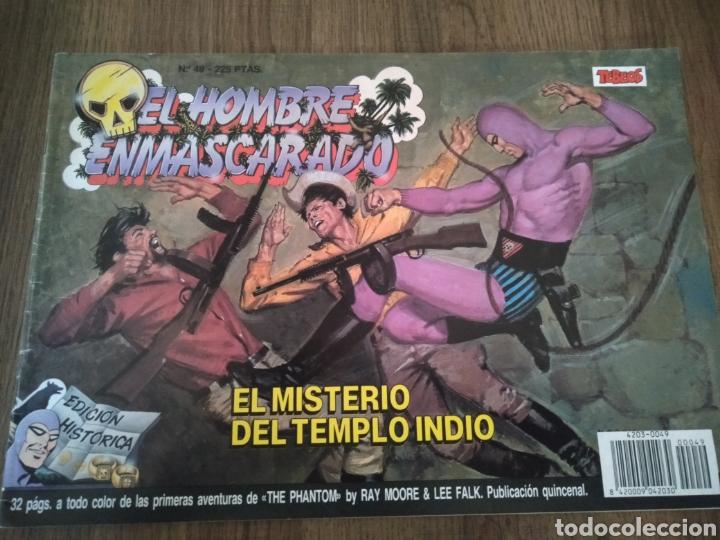 COMIC EL HOMBRE ENMASCARADO N°49. EDICIONES B S.A. AÑO: 1988. COMO NUEVO. (Tebeos y Comics - Ediciones B - Otros)