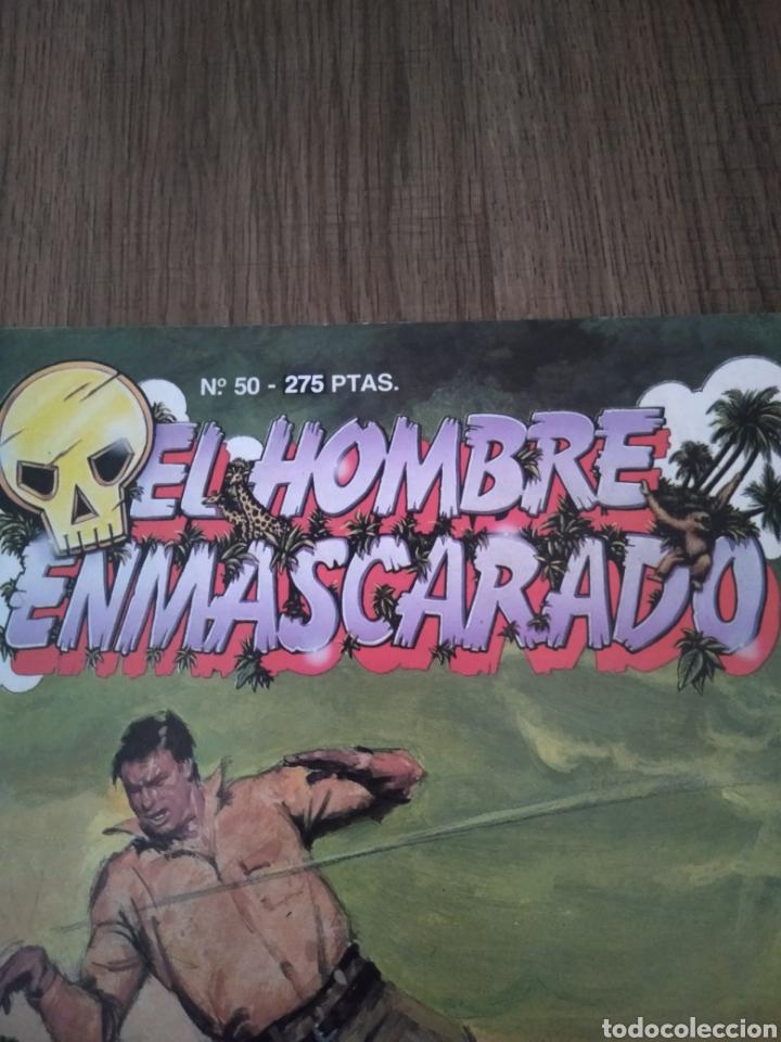 Cómics: Cómic El Hombre Enmascarado N°50. Ediciones B S.A. año 1988. Como Nuevo. - Foto 2 - 268990449