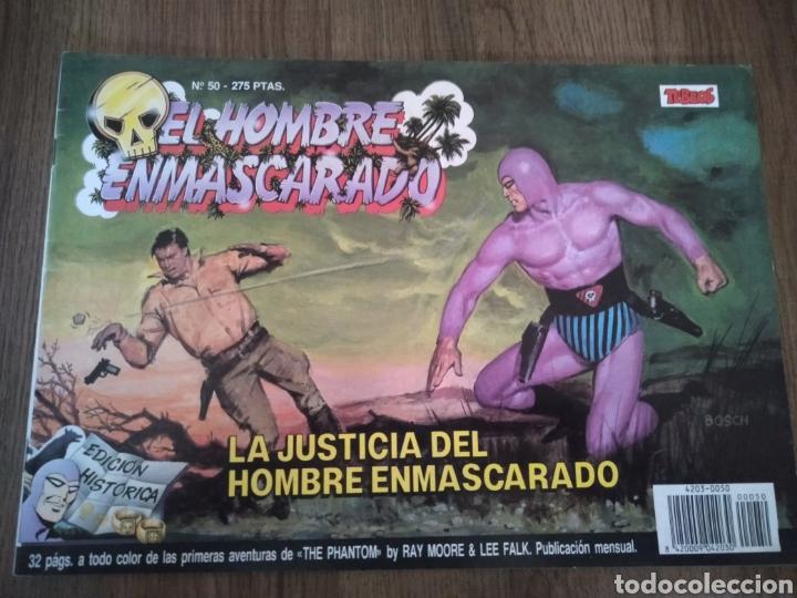 CÓMIC EL HOMBRE ENMASCARADO N°50. EDICIONES B S.A. AÑO 1988. COMO NUEVO. (Tebeos y Comics - Ediciones B - Otros)