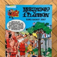 Fumetti: COLECCIÓN OLÉ MORTADELO Y FILEMÓN Nº 178: EURO BASKET 2007. Lote 269472628