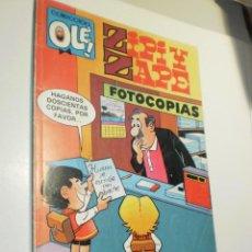 Cómics: ZIPI Y ZAPE Nº 317-Z.26 COLECCIÓN OLÉ. 1988 1ª EDICIÓN (BUEN ESTADO). Lote 269494068