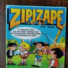 Cómics: ZIPI Y ZAPE Nº 48 - EDICIONES B- CON: ERASE UNA VEZ... LA VIDA - INCLUYE BILLETES MORTADELO.... Lote 269594798