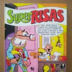 Cómics: SÚPER RISAS VOLUMEN 9 (EDICIONES B, 1987). CON SÚPER MORTADELO, SÚPER ZIPI ZAPE Y SÚPER LÓPEZ.. Lote 269701263