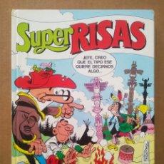 Cómics: SÚPER RISAS VOLUMEN 11 (EDICIONES B, 1988). CON SÚPER MORTADELO N°23-24, SÚPER ZIPI ZAPE N°27-28.. Lote 269701388