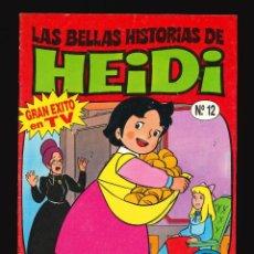 Cómics: LAS BELLAS HISTORIAS DE HEIDI - EDICIONES B / NÚMERO 12. Lote 269753208