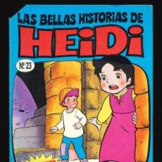 Cómics: LAS BELLAS HISTORIAS DE HEIDI - EDICIONES B / NÚMERO 23. Lote 269753278