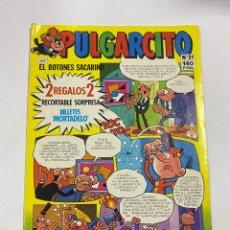 Cómics: PULGARCITO CON EL BOTONES SACARINO. Nº 21. EDICIONES B.. Lote 269773928