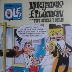 Cómics: 2 TEBEOS DE MORTALELO Y FILEMÓN - COLECCIÓN OLÉ - AÑO 1992. Lote 269839503