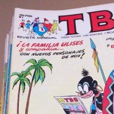 Cómics: TBO EDICIONES B - LOTE 85 EJEMPLARES CON LAS HISTORIETAS MAS EMBLEMATICAS. Lote 269936828