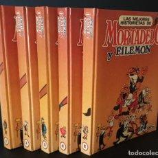 Cómics: LAS MEJORES HISTORIAS DE MORTADELO Y FILEMON 5 TOMOS. COMPLETA. 1987. EDICIONES B. - NAUTA. Lote 269938403