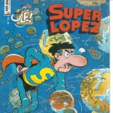 Cómics: SUPER LOPEZ 32: LAS MINAS DEL REY SOPLOMÓN, 1998, EDICIONES B, PRIMERA EDICIÓN, BUEN ESTADO. Lote 270004923