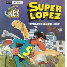 Cómics: SUPER LÓPEZ 25: TYRANNOSAURUS SECT, 1997, EDICIONES B, MUY BUEN ESTADO. Lote 270005663