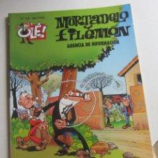 Comics : MORTADELO Y FILEMON - OLE Nº 106 - AGENCIA DE INFORMACION EDICIONES B BUEN ESTADO ARX108. Lote 270200283