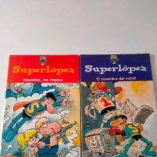 Cómics: LOTE 2 CÓMICS SUPERLOPEZ EDICIONES B AÑO 2004. Lote 270224553