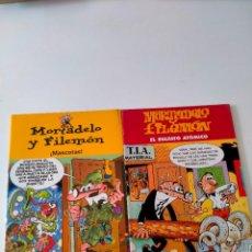 Cómics: LOTE 2 CÓMICS MORTADELO Y FILEMÓN EDICIONES B AÑO 2003 Y 2004. Lote 270225508