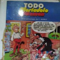 Cómics: TODO MORTADELO Y FILEMÓN: MISIÓN DE PERROS / LOS GAMBERROS / LOS BOMBEROS / PÁNICO EN EL ZOO / MAGÍN. Lote 270576253